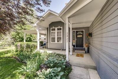Longmont Single Family Home Under Contract: 2427 Mallard Circle