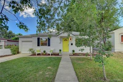 Denver Single Family Home Active: 68 Vrain Street