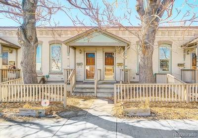 Denver Condo/Townhouse Under Contract: 3449 Mariposa Street