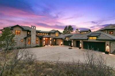 Parker CO Single Family Home Active: $5,200,000