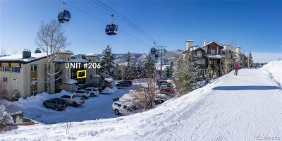 Steamboat Springs CO Condo/Townhouse Active: $318,000
