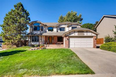 Highlands Ranch Single Family Home Active: 8745 Meadowlark Circle