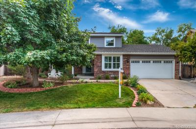 Centennial Single Family Home Under Contract: 7979 South Monaco Court