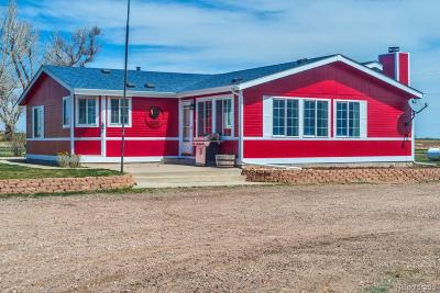 Greeley Single Family Home Under Contract: 32499 County Road 53