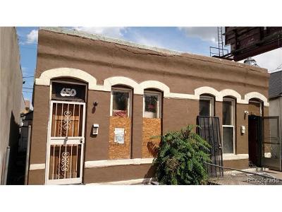 Denver Multi Family Home Active: 648 Santa Fe Drive