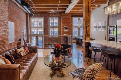 Denver Condo/Townhouse Active: 1450 Wynkoop Street #1I