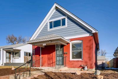 Denver Single Family Home Under Contract: 4040 Navajo Street