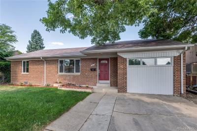 Denver Single Family Home Active: 1660 South Lowell Boulevard