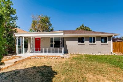 Denver Single Family Home Active: 1271 Verbena Street