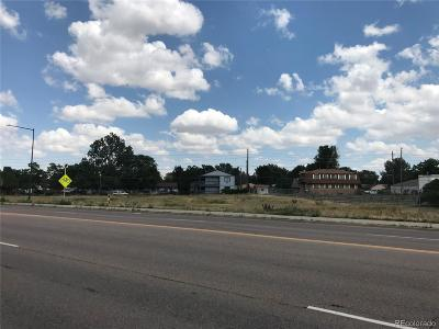 Commerce City Residential Lots & Land Active: 6610 Highway 2