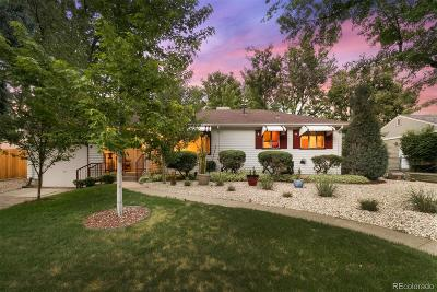 Littleton Single Family Home Under Contract: 5310 South Washington Street