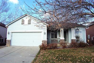 Longmont Single Family Home Active: 814 Timothy Drive