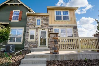 Castle Rock Condo/Townhouse Active: 809 Stony Mesa Place