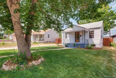 Englewood Single Family Home Under Contract: 3865 South Clarkson Street