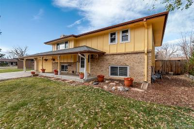 Arvada Single Family Home Under Contract: 8417 Eaton Street