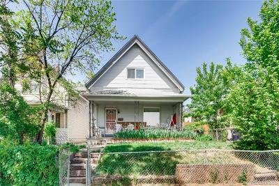 Denver Single Family Home Active: 2639 Bryant Street