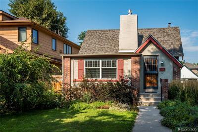 Denver Single Family Home Active: 673 South Vine Street