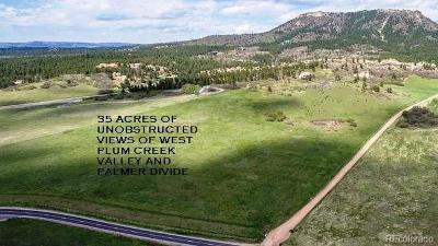Sedalia Residential Lots & Land Active: Perry Park Road