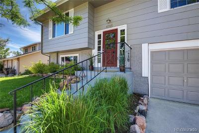 Boulder Single Family Home Under Contract: 4765 Greylock Street