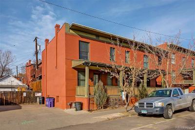 Condo/Townhouse Under Contract: 3131 Tejon Street