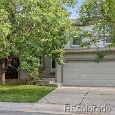 Broomfield Single Family Home Sold: 341 Mulberry Circle