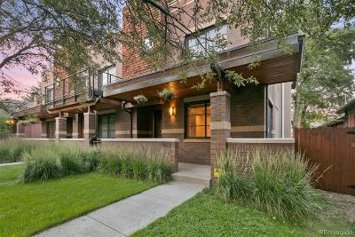 Denver Condo/Townhouse Active: 1058 South Corona Street