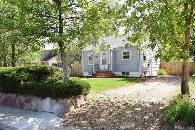 Greeley Single Family Home Under Contract: 1016 19th Avenue