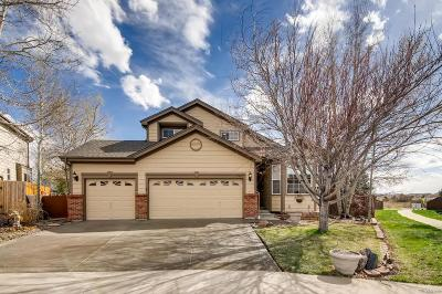 Parker Single Family Home Under Contract: 6481 Trapper Court