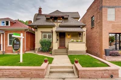 Denver Single Family Home Active: 381 North Corona Street