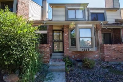 Aurora Condo/Townhouse Under Contract: 4227 South Granby Court #B