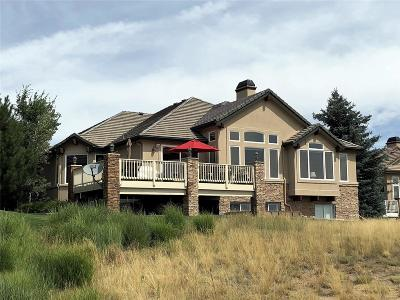 Castle Pines Single Family Home Active: 6766 Vista Lodge Loop