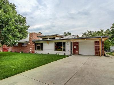 Wheat Ridge Single Family Home Under Contract: 3690 North Allison Court