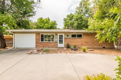 Arvada Single Family Home Under Contract: 6055 Dover Street
