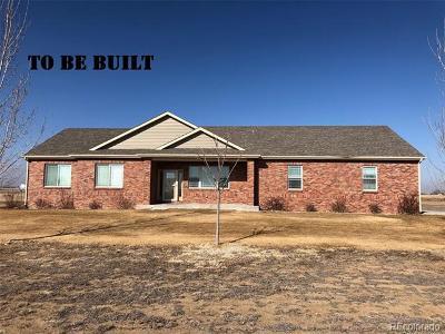 Platteville Single Family Home Active: 16506 Fairbanks Road