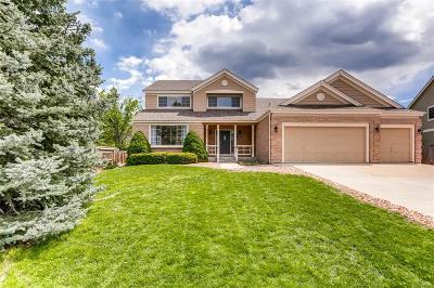 Littleton Single Family Home Active: 8278 West Chestnut Avenue