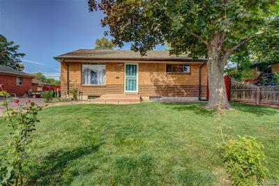 Denver Single Family Home Active: 7757 Quivas Street
