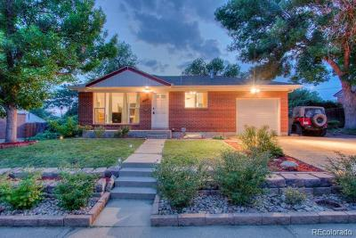 Northglenn Single Family Home Active: 10647 Corona Street