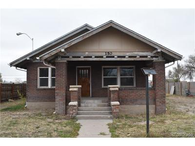 Fort Lupton Single Family Home Active: 150 South Denver Avenue
