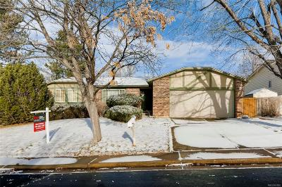Aurora Single Family Home Under Contract: 3940 South Argonne Way