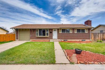 Centennial Single Family Home Under Contract: 6762 South Cherry Street