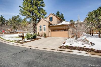 Castle Rock Single Family Home Active: 5092 Hidden Pond Place