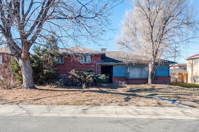 Denver Single Family Home Active: 485 South Krameria Street