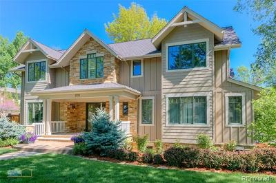 Boulder Single Family Home Active: 1011 Juniper Avenue