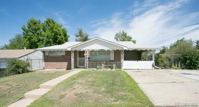 Denver Single Family Home Active: 1696 South Bryant Street