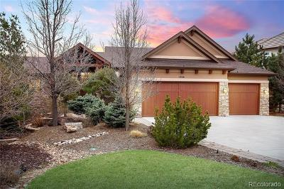 Castle Pines Single Family Home Active: 1254 Buffalo Ridge Road