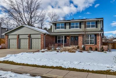 Arapahoe County Single Family Home Active: 5533 South Kenton Court