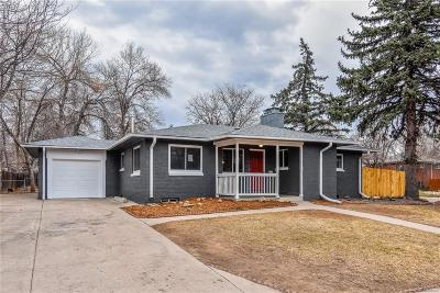Littleton Single Family Home Active: 6196 South Valleyview Street