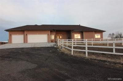 Byers Single Family Home Active: 3190 South County Road 185