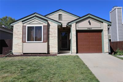 Aurora Single Family Home Active: 17967 East Bethany Place
