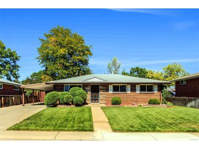 Arvada Single Family Home Active: 9535 West 52nd Avenue